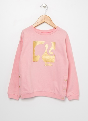 Barbie Sweatshirt Pembe